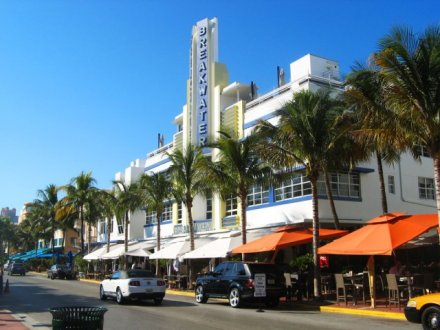 Breakwater Hotel in Miami, South Beach Hotels