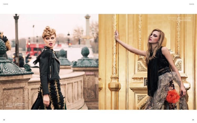 J'adore Paris, Maniac Magazine February 2012