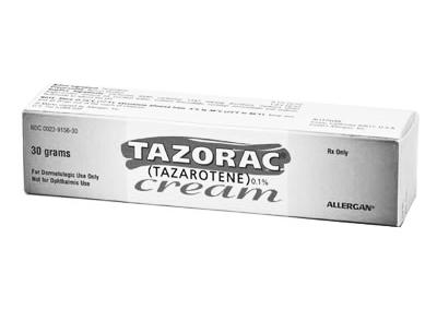 Tazorac Retinoid Cream by Allergan